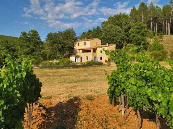 Provence Entrecasteaux Landhaus Le Bas de Pierre Ambert Bild 1