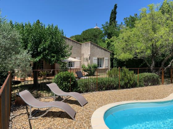 Ferienhaus Provence mit Reiturlaub-Möglichkeit