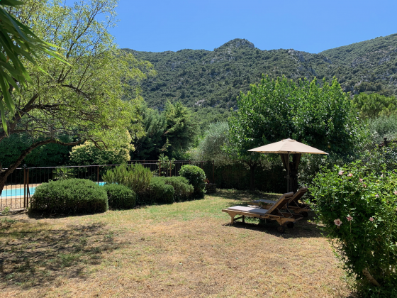 Garten und Luberon