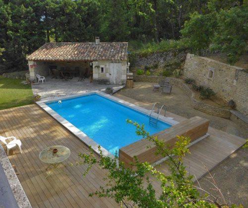 Pool Frankreich Ferienhaus Ref.:95515-7 Maubec