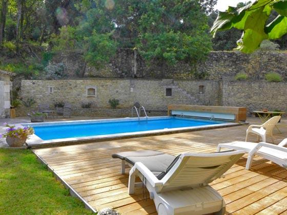 2 Frankreich Ferienhaus Garten, Terrasse und Pool Ref.:95515-7 Maubec