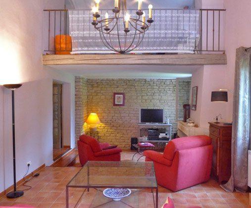 Wohnzimmer Ref.:95515-7 Frankreich Maubec Ferienhaus