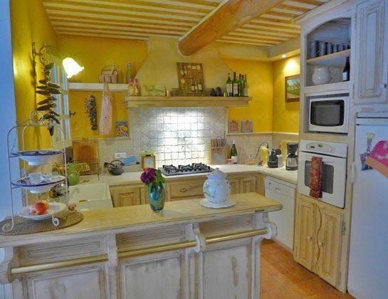 Ref.:95515-7 Küche Frankreich Maubec Ferienhaus