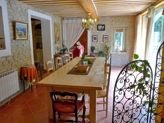 Esszimmer Frankreich Ref.:95515-7 Maubec Ferienhaus