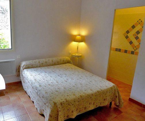 Ferienhaus Schlafzimmer 1 Ref.:95515-7 Maubec  Frankreich