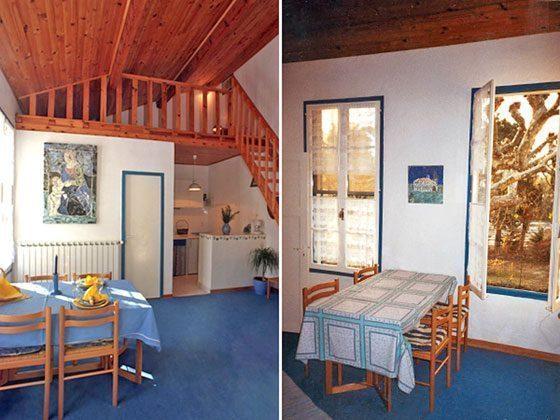 Ferienwohnung Wohnbereich mit Galerie