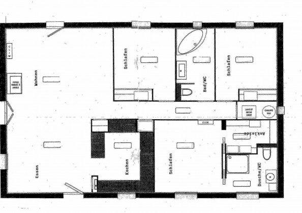 Grundriss Provence Ferienhaus La maison de L´Isle Ref. 191067-1