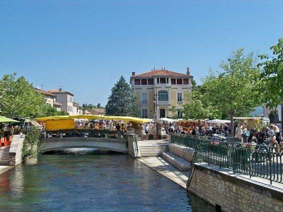der Fluss Provence Ferienhaus La maison de L´Isle Ref. 191067-1