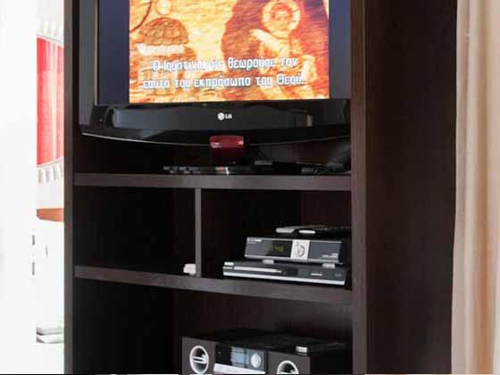 Hifi-Schrak im Wohnraum Wohnbeispiel