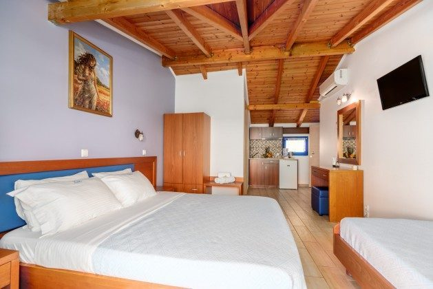 Dreibettzimmer mit Küche - Objekt 124123-1