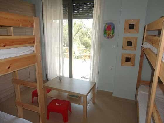 Schlafzimmer 3 mit  Etagenbetten - Bild 1 - Objekt  94595-1