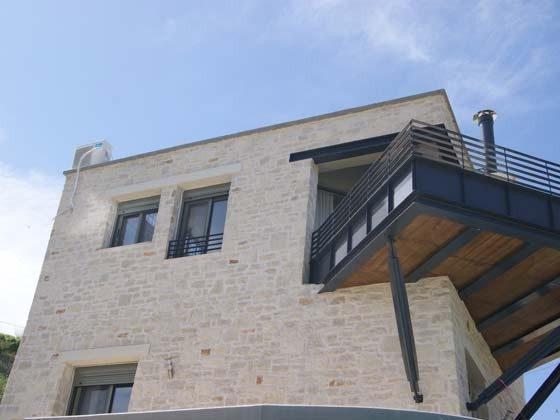 Blick auf die Balkonterrasse  - Objekt  94595-1
