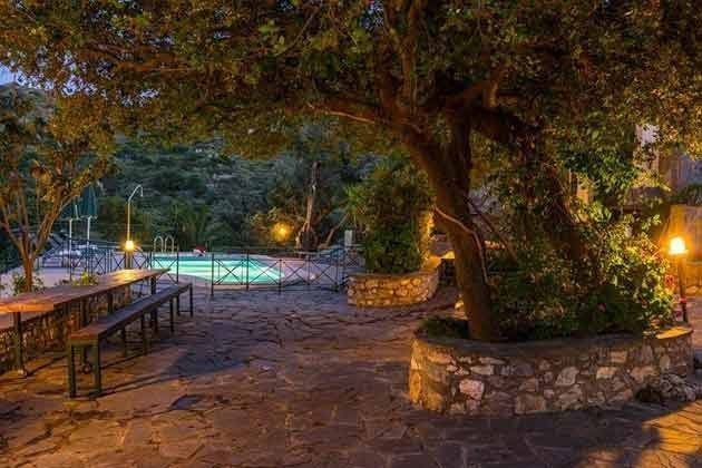 Garten Abendbeleuchtung