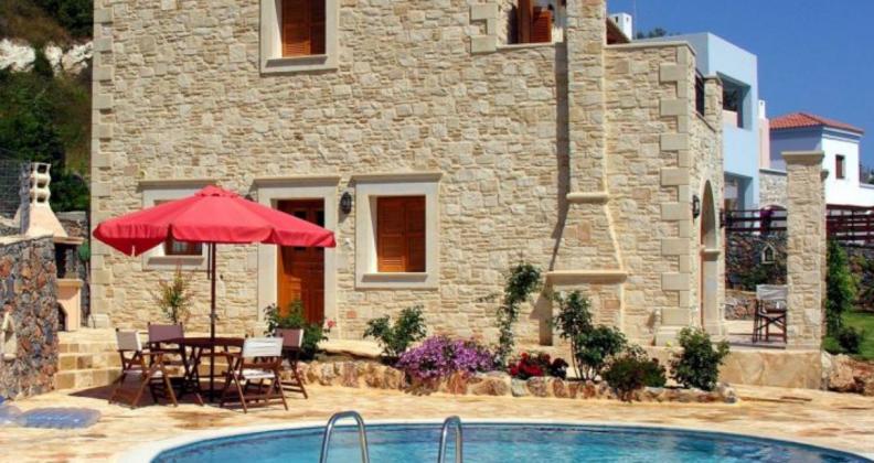 Ferienhaus Kreta mit nahegelegener Tennisanlage