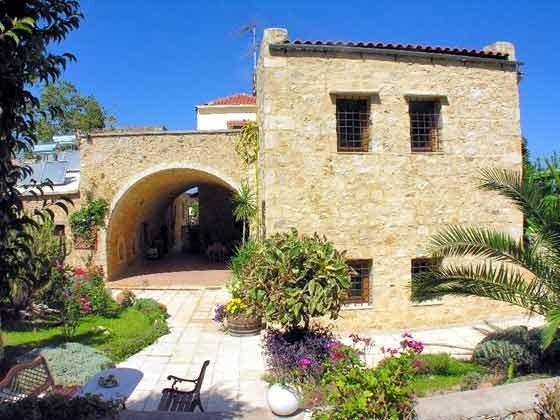 Ferienhaus Gartenseite