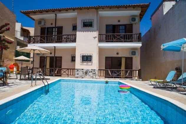 Pool und Villa