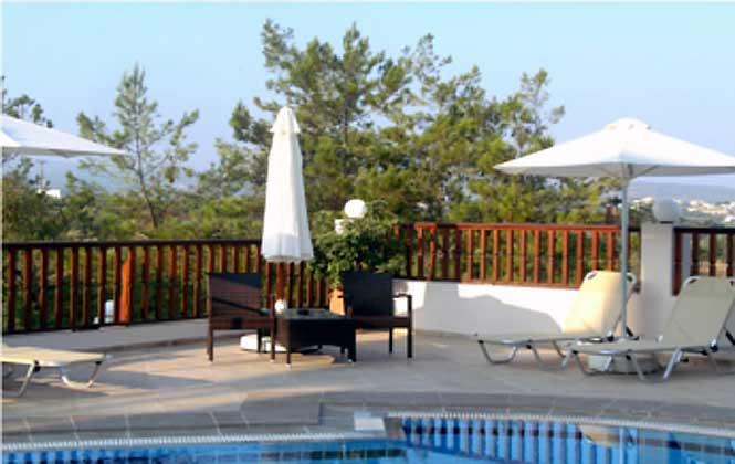 Kreta Ferienvilla 88634-2 Poolterrasse
