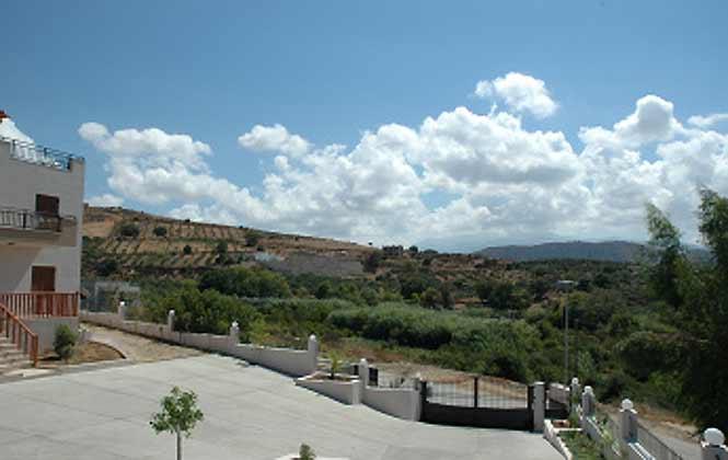 Kreta Ferienvilla 88634-2 Blick vom Haus