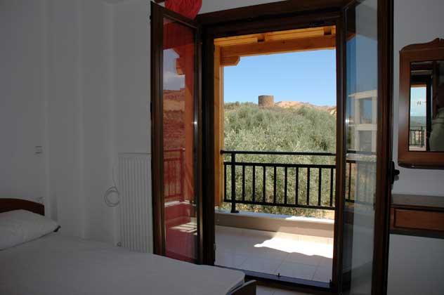 Blick aus einem der Schlafzimmer - Objekt 88634-2