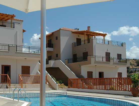 Ferienhaus Kreta mit Kamin