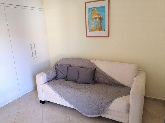 Schlafzimmer 2 mit Schlafcouch - Objekt 213350-1