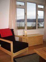 Ferienhaus Schottland - Ausblick Wohnzimmer