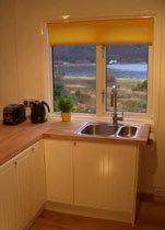 Ferienhaus Schottland - Ausblick Küche