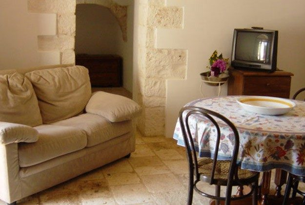 Apulien Polignano a Mare Ferienhaus 2705-9 Wohnraum