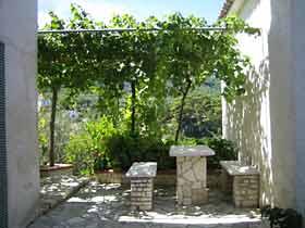 Ferienwohnung Apulien Apartment Villa Maria Garten