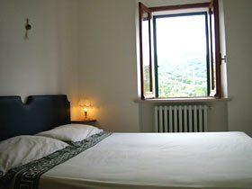 Apartment Limone schlafzimmer