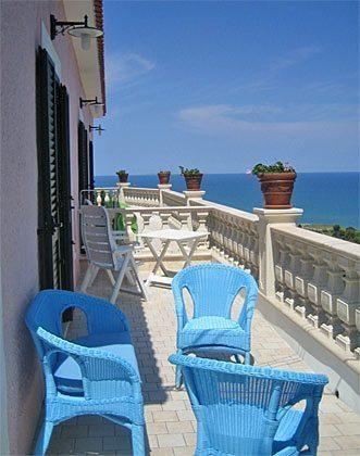 Terrasse Ferienwohnung Gargano Cielo