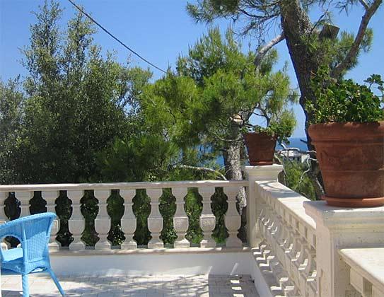 Balkon Ferienwohnung Gargano Cielo