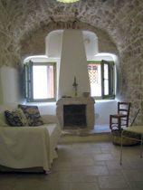 Ferienwohnung Apulien Wohnbereich