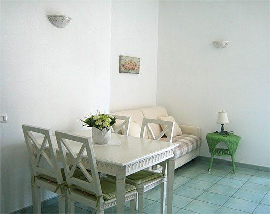 Wohnbereich Apulien Gargano Ferienwohnung Aqua Marina