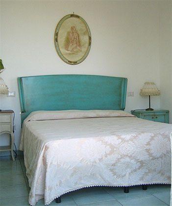 Schlafzimmer Apulien Gargano Ferienwohnung Aqua Marina