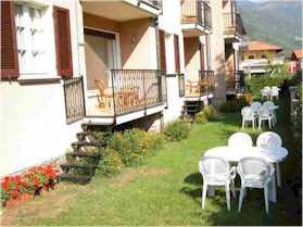Appartements Domaso Garten