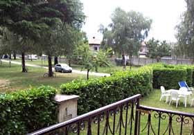 Appartements Domaso Balkon