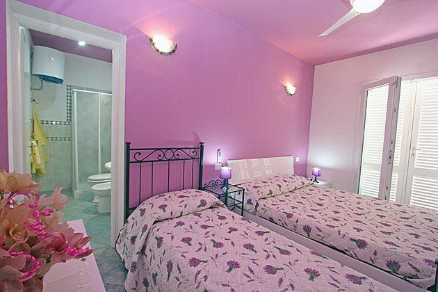 Wohnung 5 Schlafzimmer mit Doppel- und Einzelbett