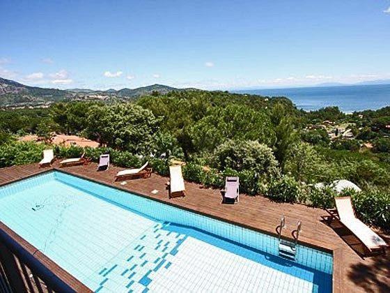 Pool Capoliveri Ferienvilla Ref. 112305-40