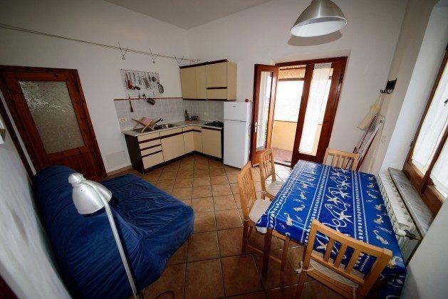 Bild 14 - Wohnküche mit Schlafsofa kl. Appartement