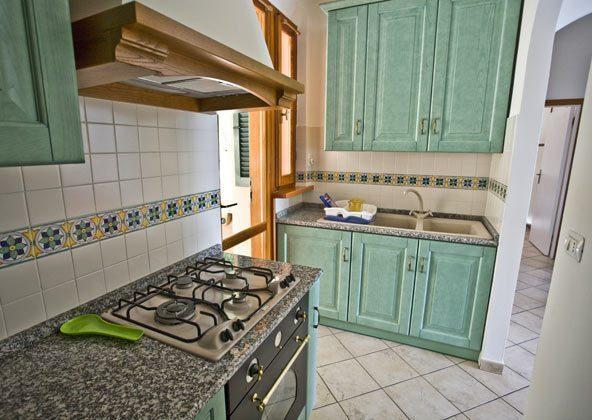 Küche b Ferienwohnung Elba Villino Forno 2598-29