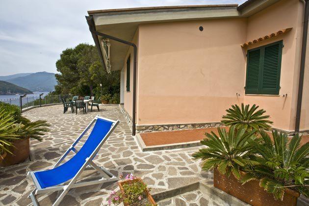 Terrasse c Ferienwohnung Elba Villino Forno 2598-29