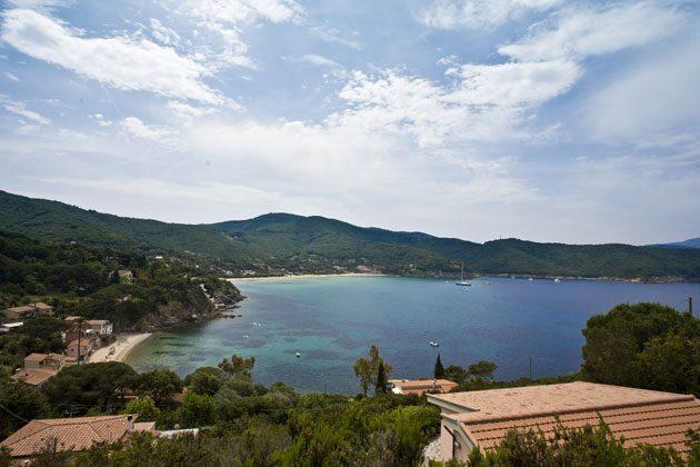 Aussicht b Ferienwohnung Elba Villino Forno 2598-29