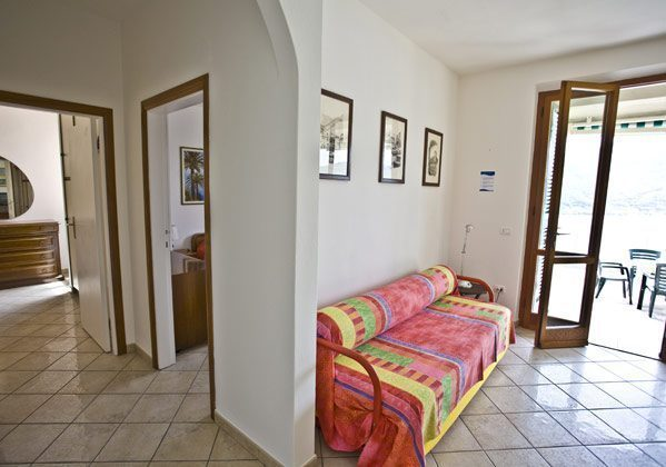 Wohnzimmer Schlafsofa Ferienwohnung Elba Villino Forno 2598-29