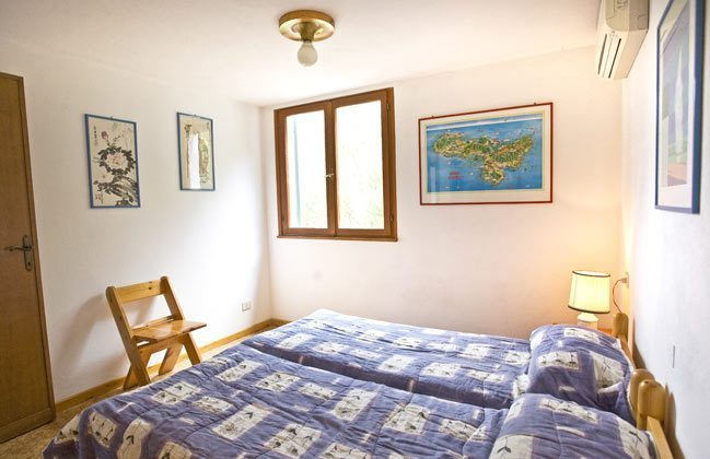 Schlafzimmer Italien Elba Villa Oleandra