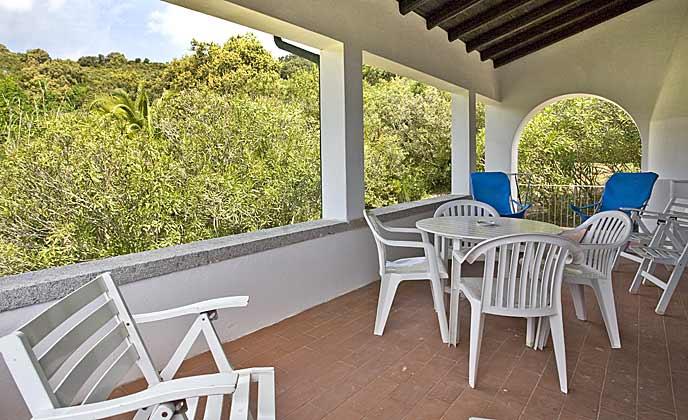 Terrasse Italien Elba Villa Oleandra