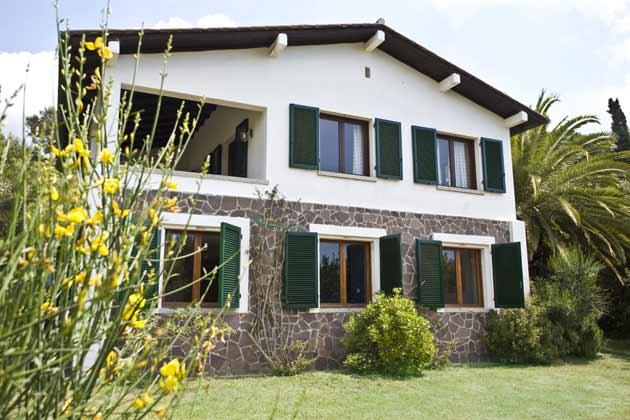 Haus aussen Italien Elba Villa Oleandra