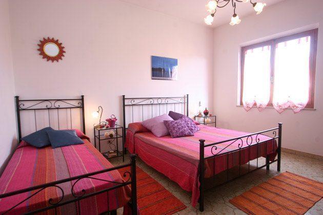 Schlafzimmer 2 Giglio di mare Ferienwohnungen Marina di Campo Ref. 112305-38