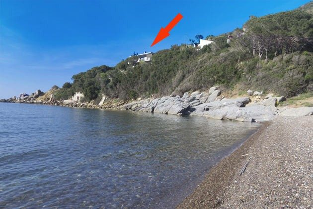 Lage am Strand Nisporto Ferienwohnung Ref. 112305-48