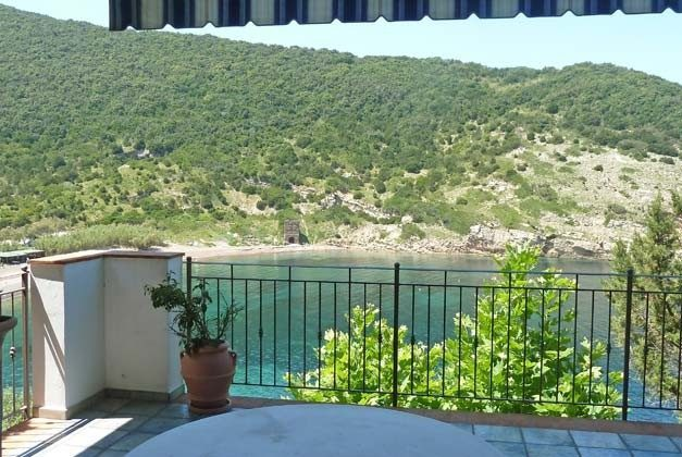 Terrasse  zum Strand Nisporto Ferienwohnung Ref. 112305-49